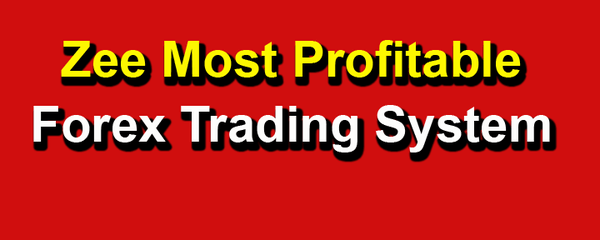 Zee Forex Trader by Dr. Zain Agha Plus Trade Alert  Free Shipoing. 1